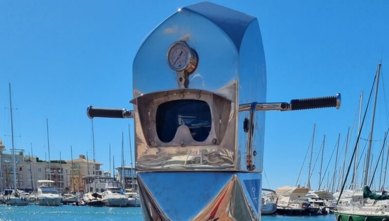 The Visual Periscope to observe the Marine Life