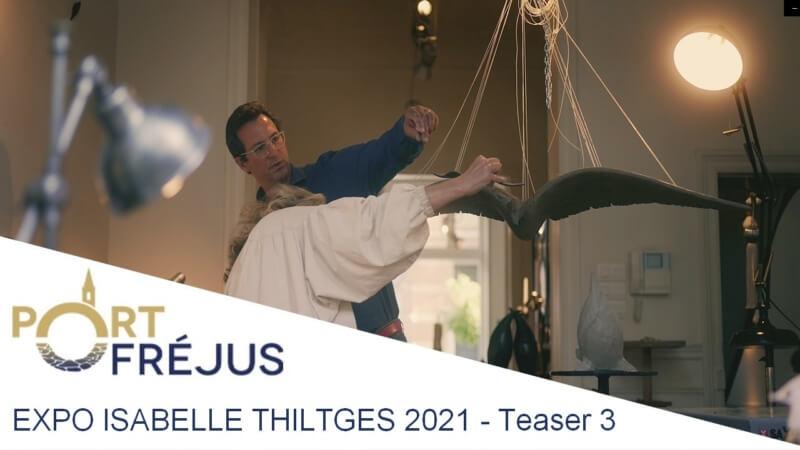 PORT-FREJUS EXPOSE ISABELLE THILTGÈS - TEASER 3 / 4